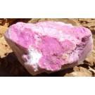 Rough Cobaltoan Calcite from the Congo (€ 2.50)