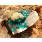 Dioptase from Tsumeb, Namibia (€ 4.00)