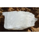 Rough Clear Calcite from Farm 70 km nord von Keimos (west von Uppington), Northern Cape Province (€ 1.00)