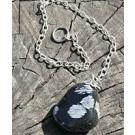 Snowflake Obsidian Pendulum (€4.50)