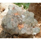 Quartz cluster with Chlorite Phantoms from Mussina (€ 3.00)