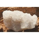 Rough White Calcite cluster (€ 3.00)