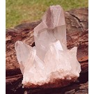 Rose Quartz cluster from Madagascar (€ 3.00)