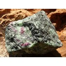 Ruby in Zoisite with Tschermakite (€ 3.00)