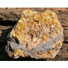 Sturmanite with Calcite (€ 1.00)