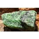 Zoisite with Tschermakite and Ruby (€ 2.00)